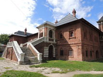 La camera metropolitana nel metochion del monastero di Krutitsy Immagine Stock