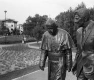 La caminata. Foto de archivo