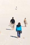 La caminata larga Imagenes de archivo