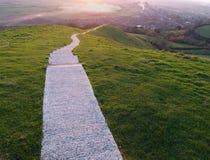 La caminata larga Imagen de archivo libre de regalías