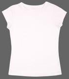 La camisa de las mujeres aislada en el fondo blanco Fotografía de archivo