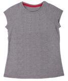 La camisa de las mujeres aislada en un fondo blanco fotos de archivo libres de regalías
