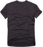 La camiseta de los hombres aislada imagenes de archivo