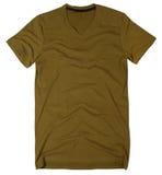 La camiseta de los hombres aislada en el fondo blanco. fotografía de archivo libre de regalías