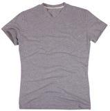La camiseta de los hombres aislada en el fondo blanco foto de archivo