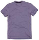 La camiseta de los hombres aislada en el fondo blanco imágenes de archivo libres de regalías