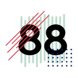 La camiseta numera el ejemplo abstracto del vector stock de ilustración