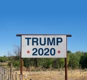 La campaña presidencial 2020 de Donald Trump foto de archivo libre de regalías