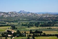 La campagna di Provençal Fotografia Stock