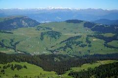 La campagna splendida invita per fare un'escursione sull'alte alpe/dolomia/verso sud il Tirolo/Italia Fotografia Stock