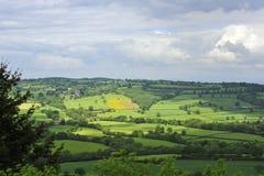 La campagne du Shropshire Photo libre de droits