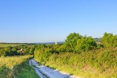 La campagne du Sussex images stock