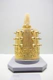 La campana dorata dell'anello immagine stock