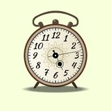 La campana grande asegura despierta Foto de archivo