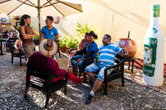 La Canchanchara-Stange - Trinidad, Kuba Lizenzfreie Stockbilder