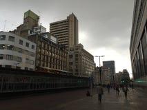 La Candelaria, BogotÃ-¡, Kolumbien Stockfotos