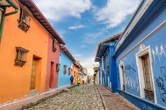 La Candelaria Bogota, Colombia fotografia stock libera da diritti