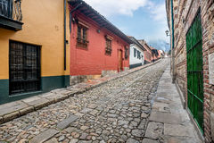 La Candelaria Bogota, Kolumbien Lizenzfreies Stockbild