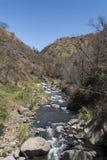 La-Candelaria-Fluss, Berge in Costa Rica Lizenzfreie Stockbilder