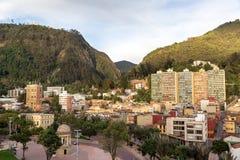 Beautiful View of Bogota Stock Images