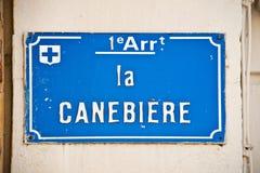 La canebiere, famous street of Marseille, France Stock Photo