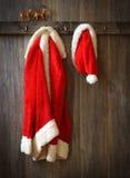 La capa de Papá Noel fotos de archivo libres de regalías