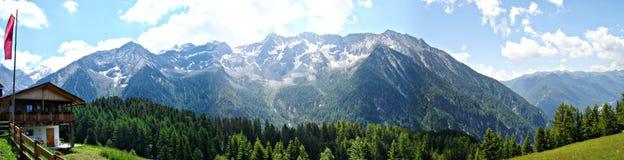 La capanna \ Moosn-Alm della montagna \ Fotografia Stock Libera da Diritti