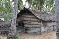 La capanna Vita del villaggio Immagine Stock Libera da Diritti