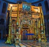 La capilla de Aedicule Imagenes de archivo