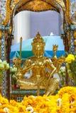 La capilla de Erawan en Bangkok Imagen de archivo libre de regalías