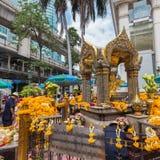 La capilla de Erawan en Bangkok Fotografía de archivo libre de regalías