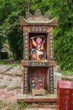 La capilla de la tierra del área de mar de bambú adentro Fotos de archivo