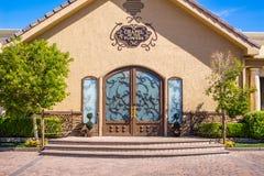 La capilla de las flores Las Vegas Nevada Imágenes de archivo libres de regalías