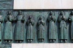 La capilla de 26 mártires de Nagasaki imagenes de archivo