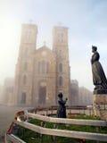 La capilla de nuestra señora del La Salette Imagen de archivo