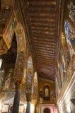 La capilla de Palatine de Palermo en Sicilia Imagenes de archivo