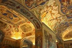 La capilla de Sistine imagenes de archivo