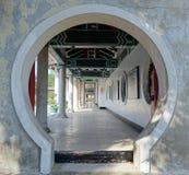 La capilla del mártir en la ciudad de Gaoxiong Fotos de archivo