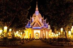 La capilla del pilar de la ciudad Foto de archivo libre de regalías