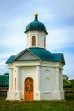 La capilla delante del monasterio de Solovetsky Imágenes de archivo libres de regalías