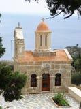 La capilla en el monasterio de Preveli Imágenes de archivo libres de regalías