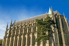 La capilla gótica Fotografía de archivo libre de regalías