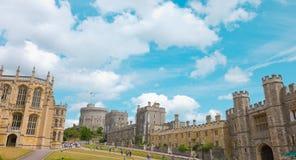 La capilla gótica de San Jorge, Windsor Castle Imagen de archivo