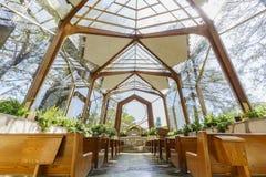 La capilla hermosa de los caminantes Imagenes de archivo