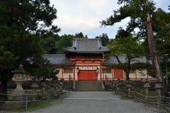La capilla japonesa en Nara, Japón fotografía de archivo