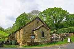 La capilla metodista, en las cercanías del bosque de Sneaton, York del norte amarra, Inglaterra imagen de archivo