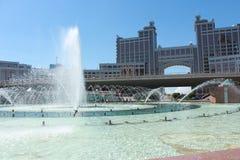 ¡La capital de Kazajistán - Astaná! Fotos de archivo
