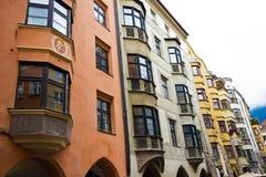 La capital de la tierra federal del Tyrol - el Innsbruk Imágenes de archivo libres de regalías