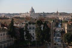 La capital italiana Foto de archivo