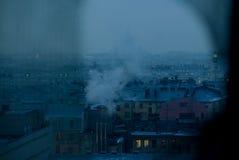La capital septentrional de Rusia en invierno Imagen de archivo